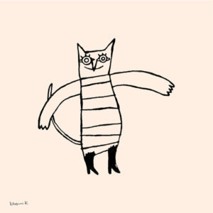 Cat wearing boots