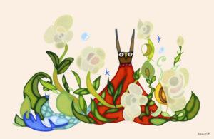 ウサギと魔法