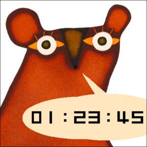 携帯待受時計 CL:株式会社リクルート D:木村晴美