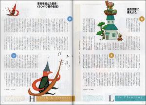 「NICOSmagazine」4 Number25 CL:日本信販株式会社 D:エー・ライン・スタジオ